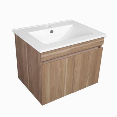 Mueble De Baño Miel 47x61.5x47 cm Incluye lavamanos