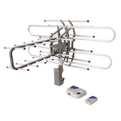 Antena Hdtv Amplificada Giratoria 360° Control