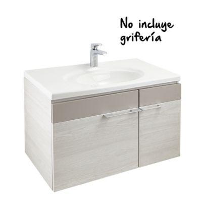 Mueble De Baño Elipse Plus 80 cm con Lavamanos