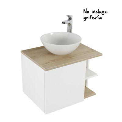 Mueble De Baño Plus Vessel 60 cm Elevado con Lavamanos