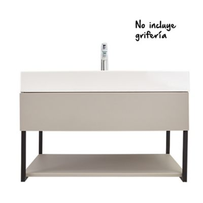 Mueble De Baño Fussion Plus 80 cm con Lavamanos