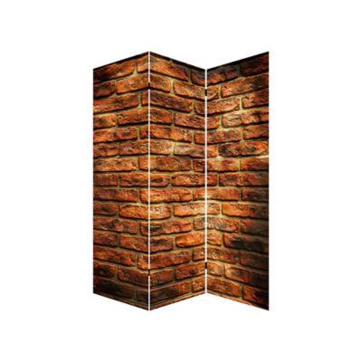 Biombo Muro Ladrillos 180 cm