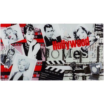 Tablero Escritorio Vidrio Hollywood 105x58cm