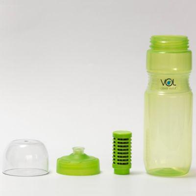 Botella con Filtro Verde (8681-5)