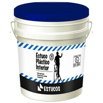 Estuco Plástico Interior 14 Kg