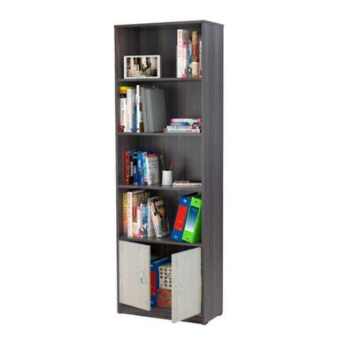 Biblioteca 2 Puertas 60x180x30 Tabaco Chic/Chantilli
