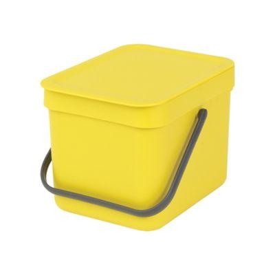Caneca Sort&Go Cubo Desperdicios 6Lt Amarillo