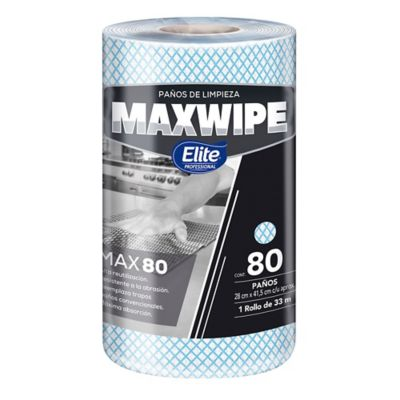 Paño Maxwipe x 80 Paños Azul