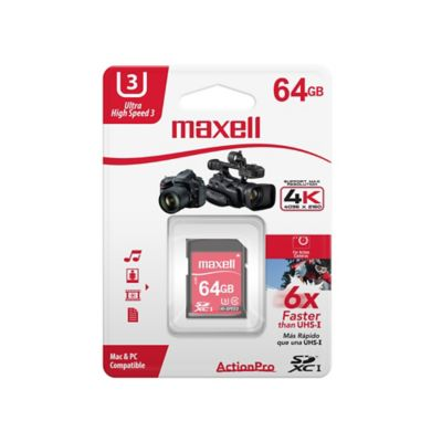 Tarjeta Micro SD 64 GB U3 Action Prouhs 3 Class 10