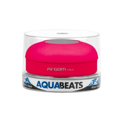 Parlante Inalámbrico Resiste al Agua Aquabeats Rosado Arg Sp 2801pk