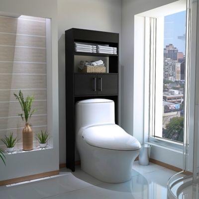 Mueble Optimizador para Baño 2 Puertas Madrid 160cm Alto x62cm Ancho x 20cm Fondo Wengue