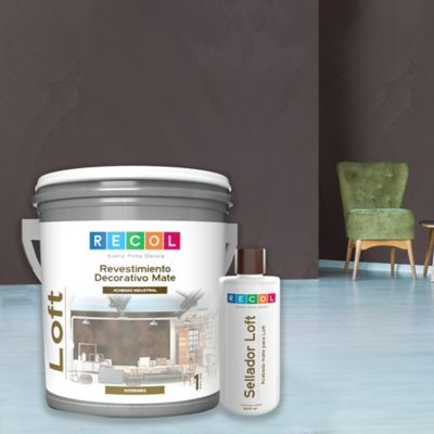 Kit Galon de Loft Textura Carbono