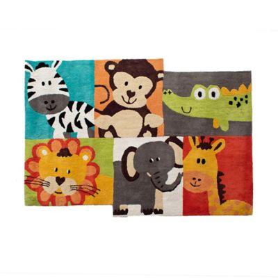 Tapete Infantil 100x140cm Animalitos