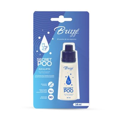 Eliminador Olores Sanitario Secret Poo Eucalipto 14ml