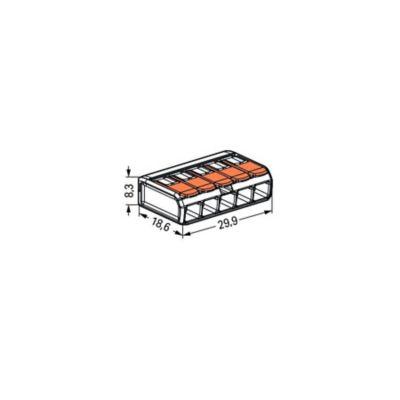 Conector Palanca 5p Punto Test 24-12 Awgx25 Und