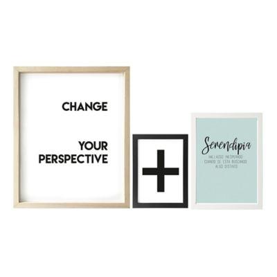 Set x3 Cuadros Change /Serendipia