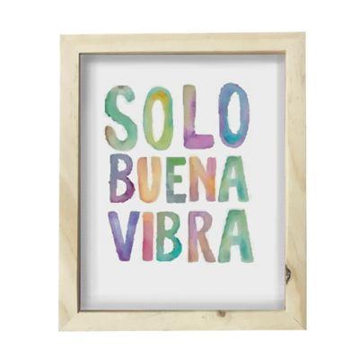 Cuadro Caja Pino 22X27cm Solo Buena