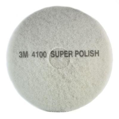 Pad para Piso 17 Pulgadas 3m Color Blanco X 5 Und
