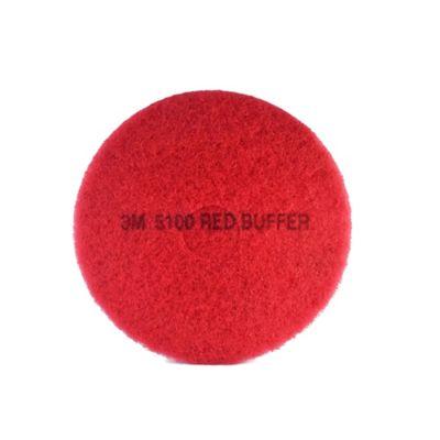 Pad para Piso 17 Pulgadas 3m Color Rojo X 5 Und