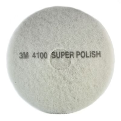 Pad para Piso 20 Pulgadas 3m Color Blanco X 5 Und