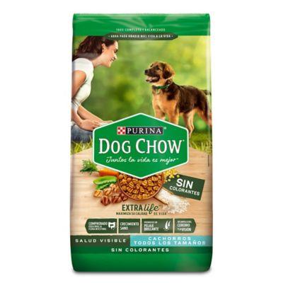 Dog Chow Sin Colorantes Cachorros Todos Los Tamaños X 8 Kg