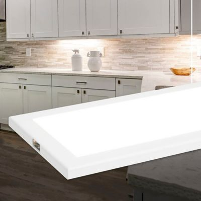 Panel Gabinete Con Sensor 6w Dimerizable 450lm Luz Cálida