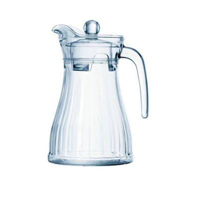 Jarra Vidrio + Tapa Acrílica 1.3 litros