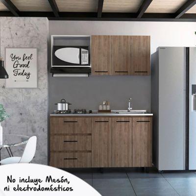 Cocina Integral Calathea 1.50 Metros 2 Cajones SIN Mesón