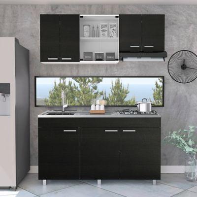 Cocina Integral Sicilia 1.50 Metros 3 Cajones Incluye Mesón Izquierdo