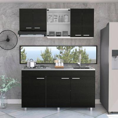 Cocina Integral Sicilia 1.50 Metros Incluye Mesón Derecho