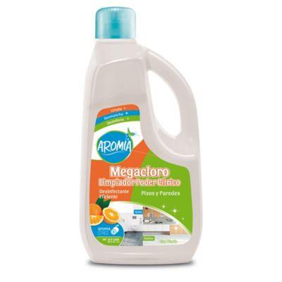 Limpiador Baño Megacloro Poder Citrus Aromia 2000ml