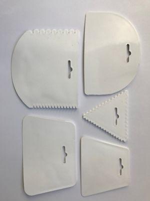 Espatulas Plasticas x 5 unidades Multiuso