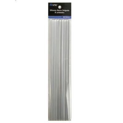 Silicona Barra Delgada x 8 unidades 7.4mm