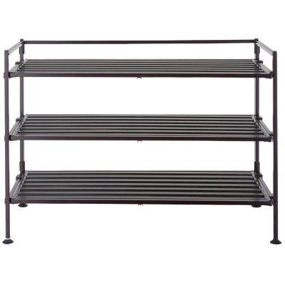 Portazapatos Metal/Resina 3 Niveles