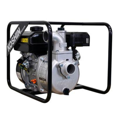 Bomba de Agua 2 Pulgadas Motor Koshin 4.2 Hp a Gasolina