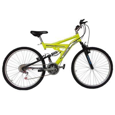 Bicicleta Acero Drivenew con Suspensión 26 Pulgadas de 18 Velocidades Neon