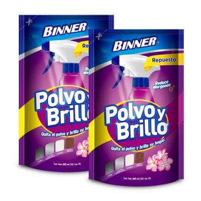 Polvo y Brillo Doy Pack 300ml x2 Flor de Primavera