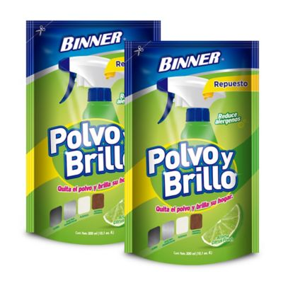 Polvo y Brillo Doy Pack 300ml x2 Citrus