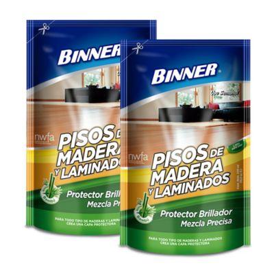 Pisos Madera Mezcla Precisa Doy Pack 500ml x2