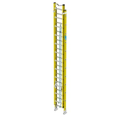 Escalera Tipo Extension en Fibra de Vidrio Tipo I 24 Pasos 113 Kilogramos