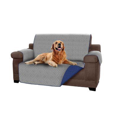 Forro Protector de Muebles Reversible Azul 2 Puestos