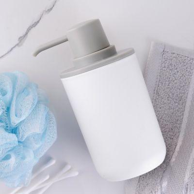 Jabonera Plástica Blanco