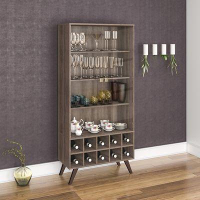 Mueble para Bar Retro 80x173 Rústico