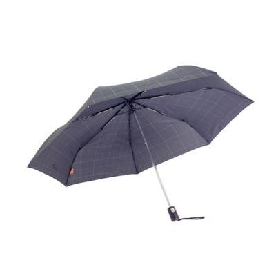 Paraguas Automatica Estampada Ejecutiva 23 Pulgadas Cuadros Bg