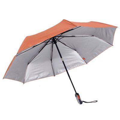 Sombrilla Automatica Filtro UV 26 Pulgadas Naranja Cora