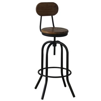 Silla para Bar RW803B Chocolate