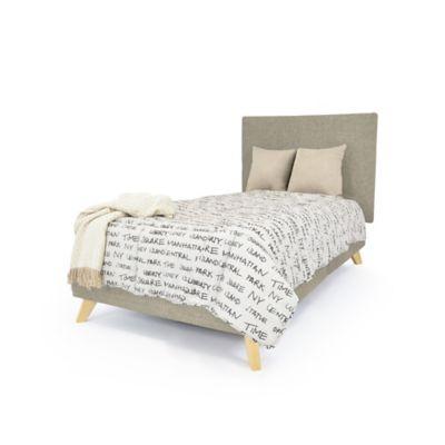 Set de Dormitorio Sencillo Verona Camel Tela