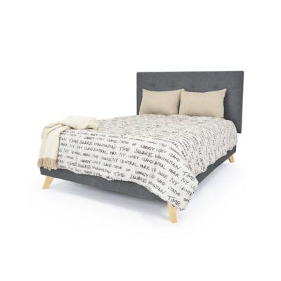 Set de Dormitorio Doble Verona Gris