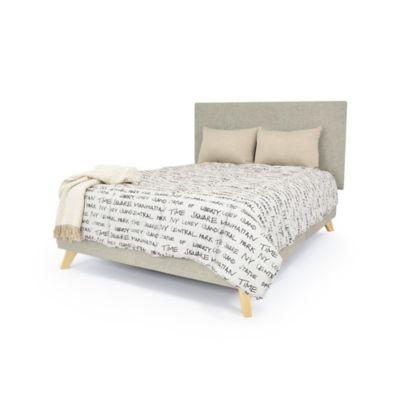 Set de Dormitorio Doble Verona Taupe Tela