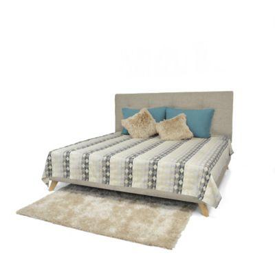 Set de Dormitorio King Verona Camel